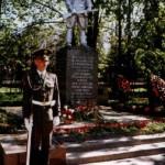 Братская могила в Крюково (в привокзальном парке, рядом с платформой). На гранитной доске указано 38 фамилий. Памятник на могиле установлен в 1956 г.