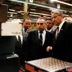 Ельцин Б. Н. знакомится с микроэлектронной промышленностью г. Зеленограда