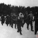 Немецкие военнопленные, взятые под Москвой, 1941 г.